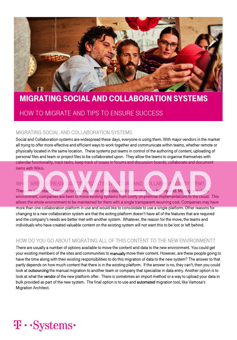 Vamosa - Social and Collaboration Migrations 2