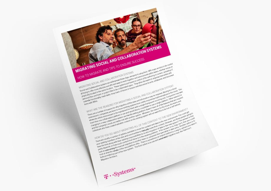 Migrating Social and Collaboration Systems White Paper