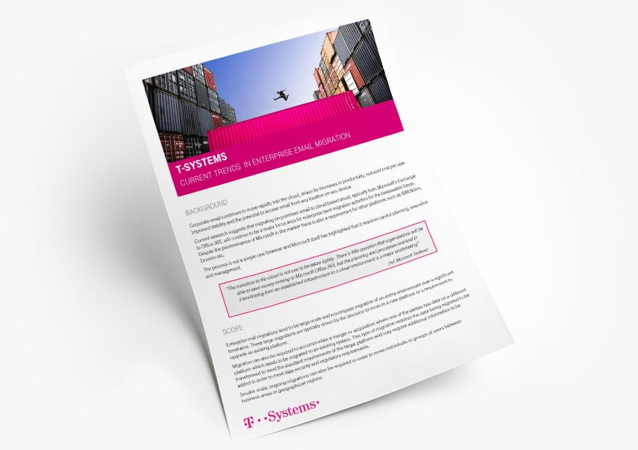 Email Migration Trends White Paper