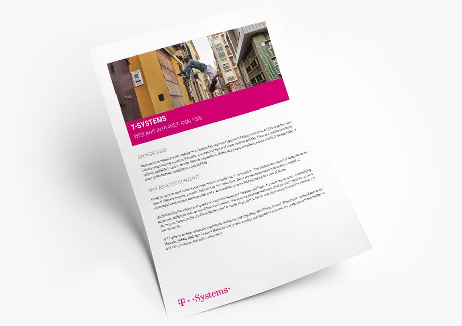 Web and Intranet Systems Analysis Whitepaper
