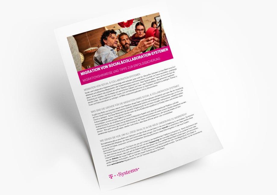 Vamosa Social and Collaboration Systems - German version