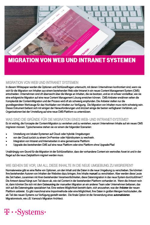 Migration von Web und Intranet Systemen_DE