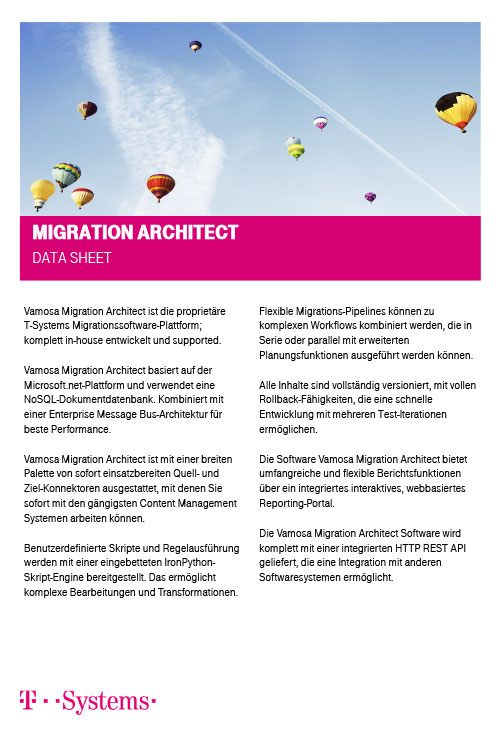 Migration Architect Datenblatt_DE