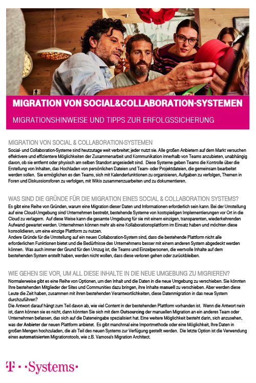 Migration von Social and Collaboration Systemen_DE