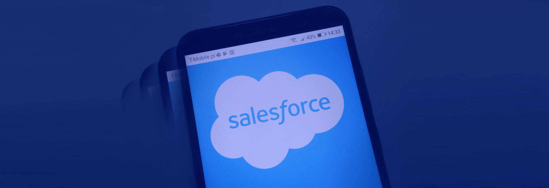 A first with Salesforce